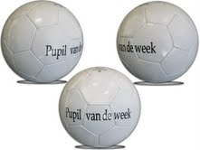 logobal pupil van de week
